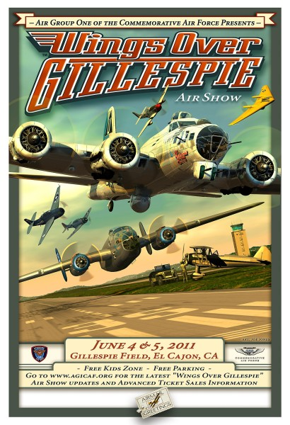 Airmail proudly unveils the flagship art for 'Wing Over Gillespie'!